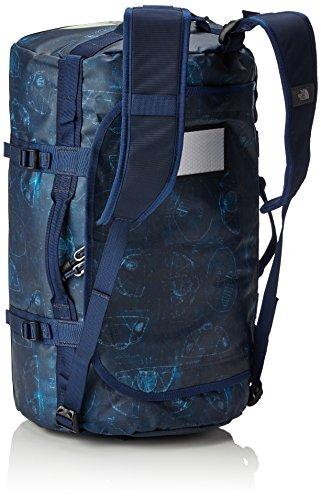 The North Face Base Camp Sac de voyage Bleu (Cosmic Blue Blueprint Print)