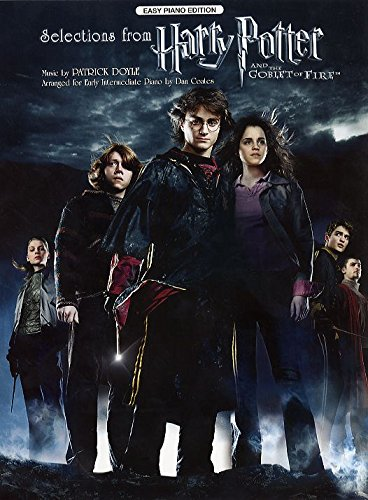 Selections From Harry Potter And The Goblet Of Fire (Easy Piano Edition). Für Klavier (Easy Harry Potter Piano-musik,)