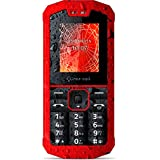 """Crosscall Spider X1 1.77"""" 94g Rojo - Teléfono móvil (SIM doble, Despertador, calculadora, calendario, Ión de litio, MP3, 128 x 160 Pixeles, TFT)"""