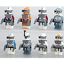 Star Wars Storm Troopers Minifigures Minifig 8-Variety Pack The Force Awakens Mini Figures Building Bricks Blocks Set Children's Kid's Toys
