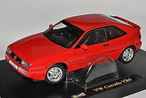 VW Volkswagen Corrado VR6 Rot 1988-1995 1/18 Revell Modell Auto mit individiuellem Wunschkennzeichen