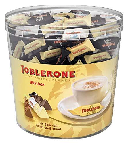 Toblerone Mixed Minis/Feine Schweizer Schokolade in drei Sorten mit Honig- und...