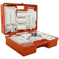 Erste-Hilfe-Koffer gemäß DIN 13169 | großer Verbandskasten für Betriebe | inkl. Wandhalterung | verschiedene Koffer-Größen