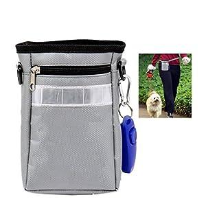 A-szcxtop Sac banane Pochette de dressage de chien avec sifflet de dressage de chien Senior pour placer jouet pour animaux domestiques et snacks
