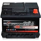 Autobatterie 12V 63Ah 580 A/EN BlackMax63 ersetzt 44 50 54 55 56 60 62 65 AH