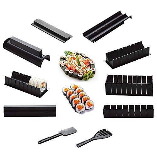 Bollitore per sushi set set riso rotolo cucina fai da te facile master rullo e coltello