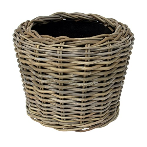 Outdoor Patio Planters (Drypot rdvspgry34Geflecht grau Dry Topf Vase Übertopf-Beige)