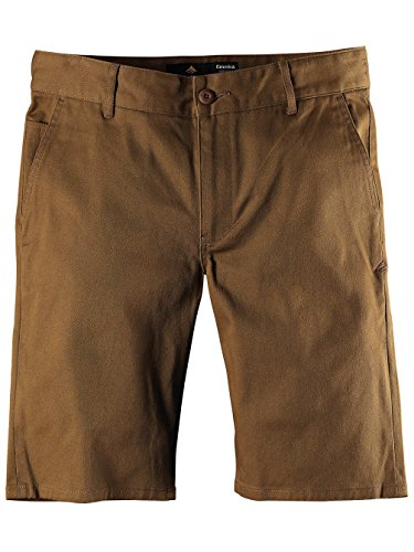 Emerica – Pants Reynolds Slim chino Shorts Marron - Tabac