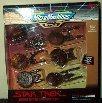 Star Trek Micro Machines Limited Bronze Collector's Set by Galoob