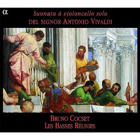 Vivaldi: Suonata à violoncello solo del signor Antonio Vivaldi - Vivaldi Sonata Per Violoncello