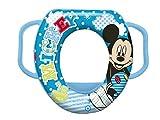Disney Mickey Mouse weich gepolsterter Toilettensitz mit Griffen, für Kleinkinder