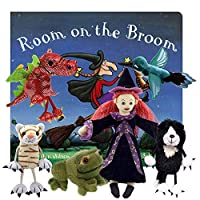 Room on a Broom - Book and Finger Puppets Set