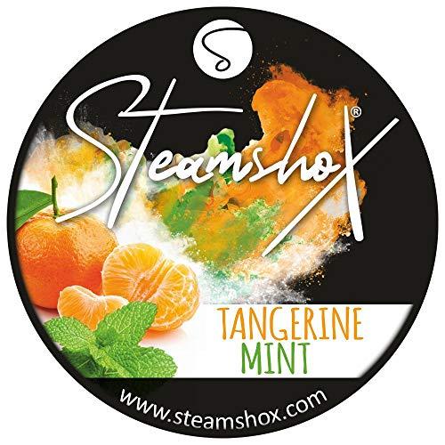 SteamshoX® Tangerine Mint, Dampfsteine 70g Steingranulat (Steam Stones), nikotinfreier Tabakersatz -
