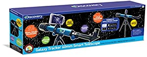 Discovery Channel tdk30 Descubrimiento Galaxy Tracker Smart telescopio, 60 mm