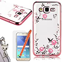 WeLoveCase Per Samsung Galaxy J5 (2015) Custodia Secret Garden Silicone