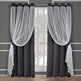 Best Home Fashion Curtain Rods - Exclusive Home Curtains Catarina Layered Solid Blackout Review