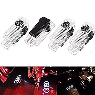 ALBRIGHT 4er-Pack Autotür Logo Projektion Licht Türbeleuchtung Willkommen Licht