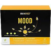 BRAINEFFECT MOOD | Pflanzlicher Stimmungsaufheller mit B6 | L-Tryptophan & Vitamin D3 + B6 | mehr Wohlbefinden... - preisvergleich