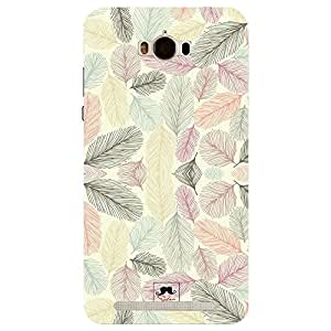 Asus Zenfone Max soft feathers Printed Back Cover