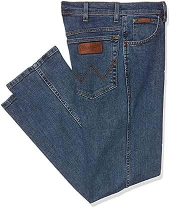 Wrangler Herren Jeans Texas Original Straight, Blau (Stonewash 010), W30/L30