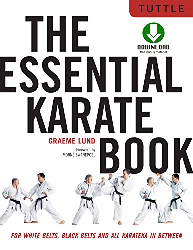 The Essential Karate Book: For White Belts, Black Belts and All Levels In Between [Companion Video Included] (English Edition) (Wrestling-training-videos)