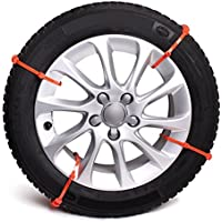 Bottari 35260 Pit Stop-8 Car & Truck Snow Anti-Skid Wheel Tire Chains-Universal Fit, Set of 8 - Compare prices and find best deal online