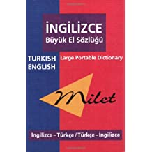 Milet Large Portable Dictionary: Turkish - English, English - Turkish