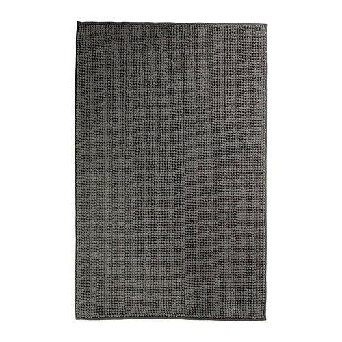 IKEA TOFTBO Badematte in grau (60x90cm)
