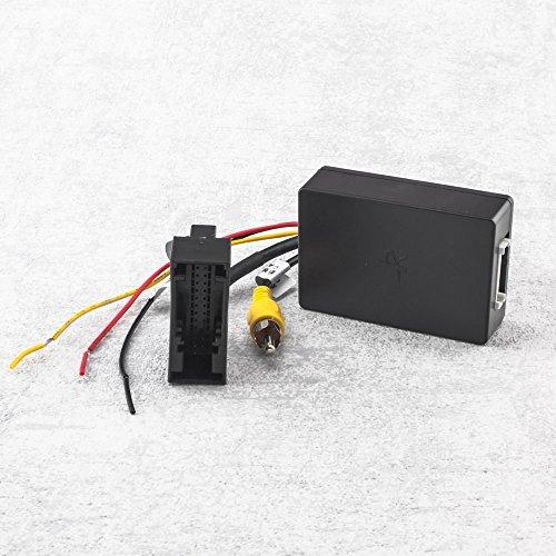Adapter zum Anschluss Werks-Rückfahrkamera am Nachrüst-Radio für VW / Seat / Skoda mit Nachrüstradio (RNS315, RNS510, RCD510, Columbus, Bolero oder Trinax wird ersetzt)