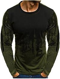 JiaMeng Suéter de Hombre Invierno Manga Larga Suéter Casual Jersey de Punto  Caliente Camiseta Blusa básica de Manga Larga con Cuello… 5c1fc3fef41