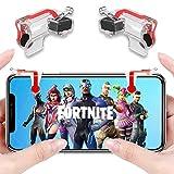 Anfiner fortnite pubg Mobile Controller Mobile Game Gaming Controller Smart Handy-Trigger, Schlacht Royale Scharfschütze empfindliche Accessoires [Neue Version–1Paar]