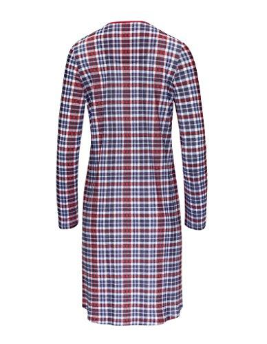 RÖSCH Femmes Chemise de nuit 1163703 100 % coton Wellness loungewear Bleu