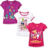 #3: Donuts Baby Girls' T-Shirt (Pack of 3) (272516692_Assorted_18M)