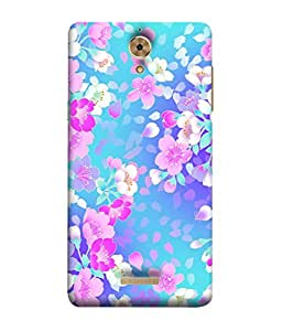 PrintVisa Flowers Pattern 3D Hard Polycarbonate Designer Back Case Cover for Coolpad Mega 2.5D