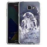 Samsung Galaxy A5 (2016) Silikon Hülle Case Schutzhülle R2d2 Star Wars Fanartikel Merchandise
