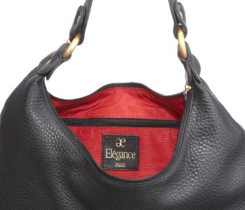 Bugatti Bags Bella Donna, Beutel 88110401, Damen Shopper, Schwarz (schwarz 01), 42x18x12 cm (B x H x T) Schwarz (schwarz 01)