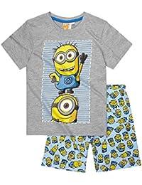Minions Despicable Me Chicos Pijama mangas cortas 2016 Collection - Azul