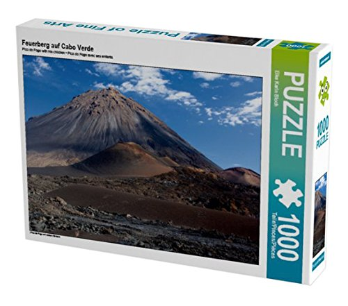 Preisvergleich Produktbild Feuerberg auf Cabo Verde 1000 Teile Puzzle quer: Pico do Fogo mit seinen Kindern (CALVENDO Orte)