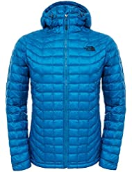 The North Face M Thermoball Hoodie - Chaqueta con capucha para hombre, color azul, talla XXL
