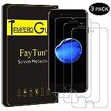 FayTun Schutzfolie für iPhone 6/6S iPhone 7 iPhone 8, 3 Stück Panzerglas für iPhone 7 8 6/6S-3D Touch Kompatibel, 9H Härte-Anti-Öl, Kratzer, Blasen und Fingerabdruck- Displayschutzfolie für iPhone 7 8 (4.7 Zoll)