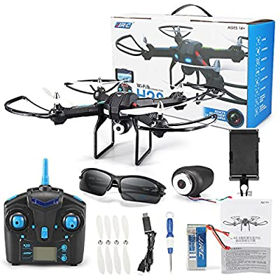 Hanbaili Drone With Camera, RC Quadcopter Drone Altitude Hold, Live Video Remote Control for Beginners Kids