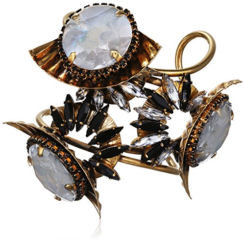 VICKISARGE Damen-Armband Vergoldet Kristall