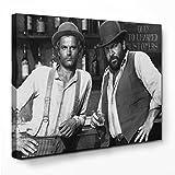 Bud Spencer - Vier Fäuste für ein Halleluja - Leinwand (80x60cm)
