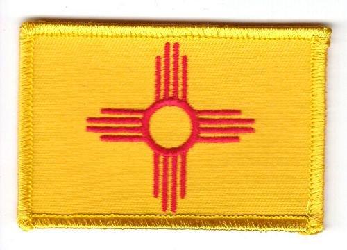 Flaggen Aufnäher Patch USA - New Mexico Fahne Flagge