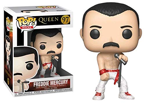 Funko Pop Freddie Mercury Diamond (edición Limitada) (Queen 97) Funko Pop Cantantes y Músicos