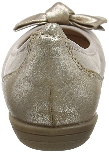 Softline Damen 22166 Geschlossene Ballerinas Beige (LT. TAUPE 347)