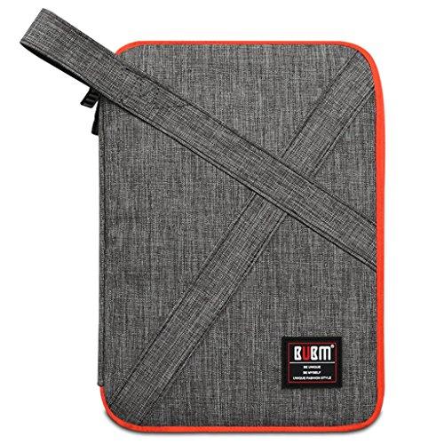 BUBM Custodia per accessori elettronici, custodia Organizer per borsa da viaggio, con manico/Electronics Accessories-Borsa/custodia per carica batteria