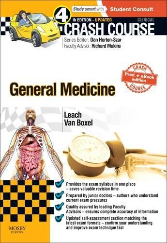 Crash Course General Medicine Updated Print + eBook edition, 4e