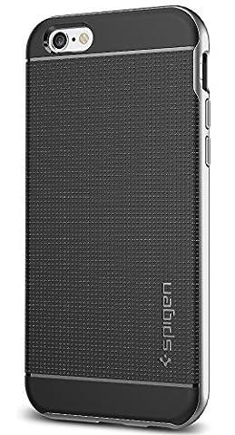 Coque iPhone 6s, Spigen [Boutons Metallique] Neo Hybrid Coque pour Apple iPhone 6 (2014) / iPhone 6s (2015) - Satin Silver (SGP11620)