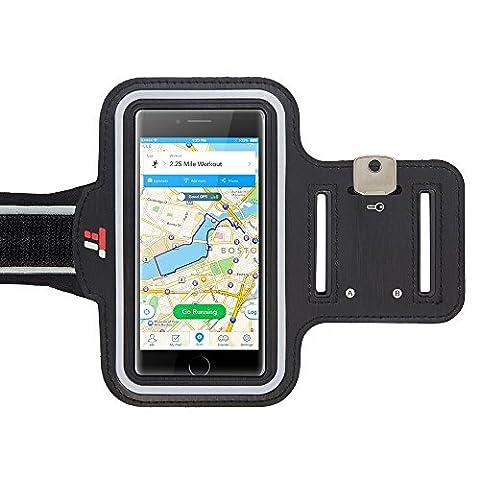 Brassard Etanche Iphone 5s - Brassard Sport TaoTronics Anti-sueur avec porte-clés et